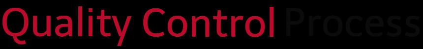 EpiLode Inc Quality Control Process